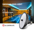 SMD2835 18W Par56 UL Certificated Pool Light Edison Joint
