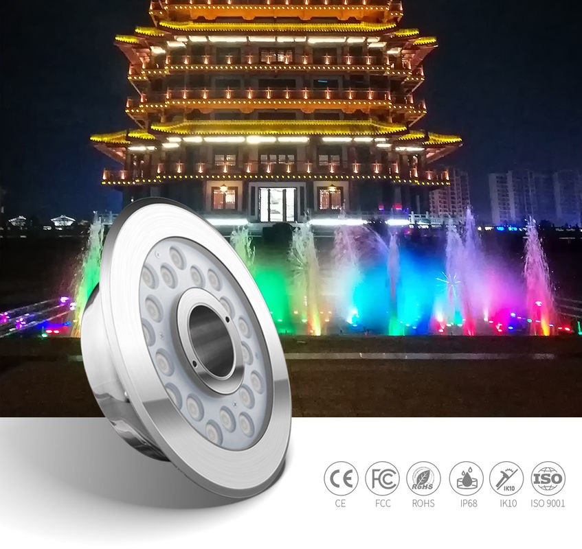 Waterproof Rgb DMX DC24V Led Fountain Ring Light 800LM